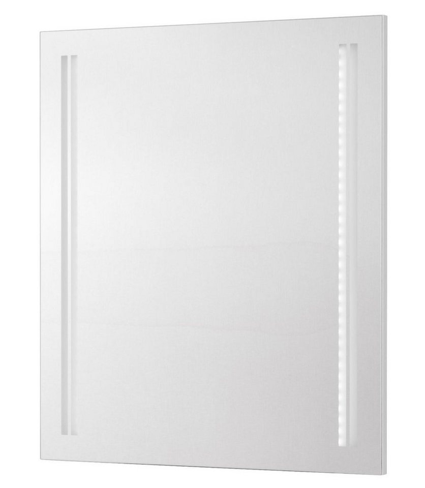 Spiegel »Lugano«, Breite 60 cm in transparent x weiß