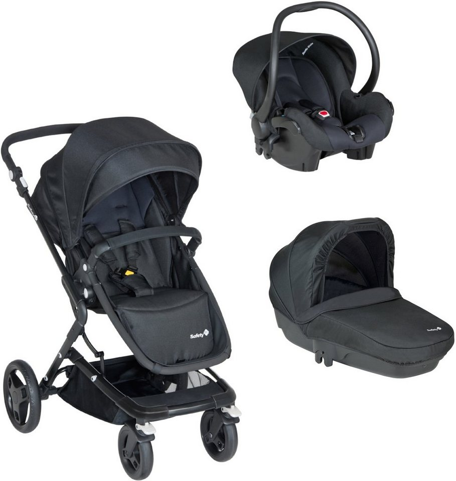 safety 1st kombi kinderwagen kokoon trio full black online kaufen otto. Black Bedroom Furniture Sets. Home Design Ideas