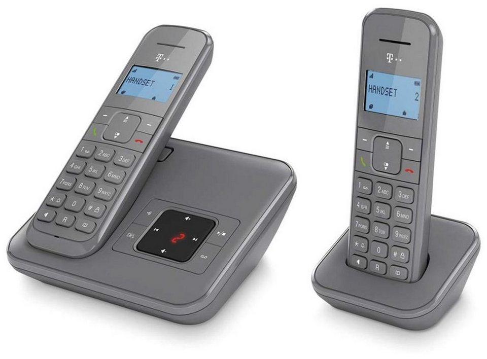 Telekom Telefon »Sinus CA 34 Duo« in Silber