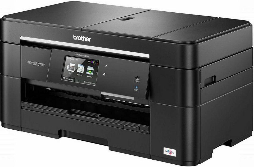 Brother Tintenstrahl-Multifunktionsdrucker »MFC-J5625DW 4in1 A3« in Schwarz