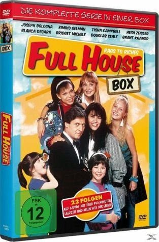 DVD »Full House - Rags to Riches, Die komplette...«