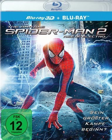 Blu-ray »The Amazing Spider-Man 2: Rise of Electro 3D +...«