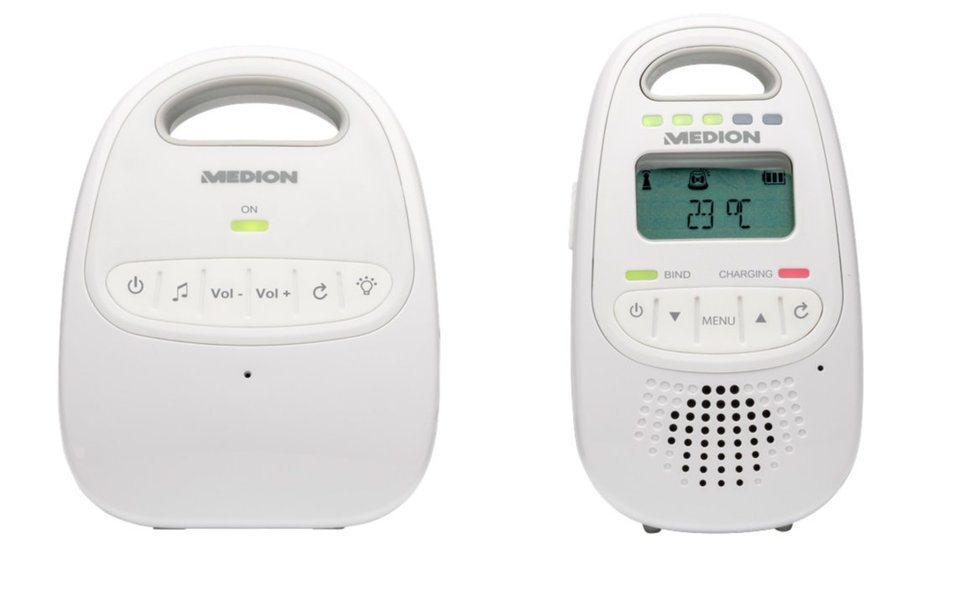 MEDION® Digitales DECT Baby-Überwachungssystem »LIFE® P67001 (MD 84645)« in weiß