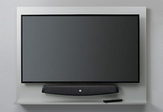 set one by Musterring TV-Paneel »phoenix«, glatt in silberfarben