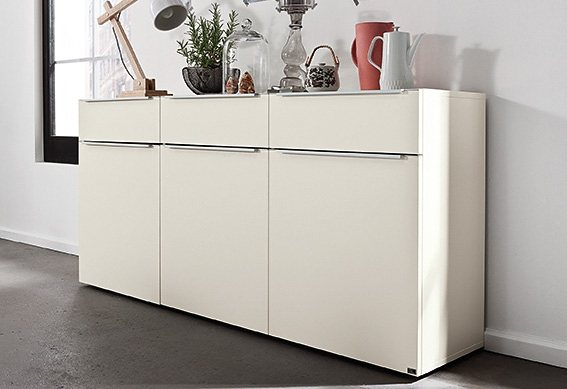 set one by musterring sideboard phoenix breite 180 cm. Black Bedroom Furniture Sets. Home Design Ideas