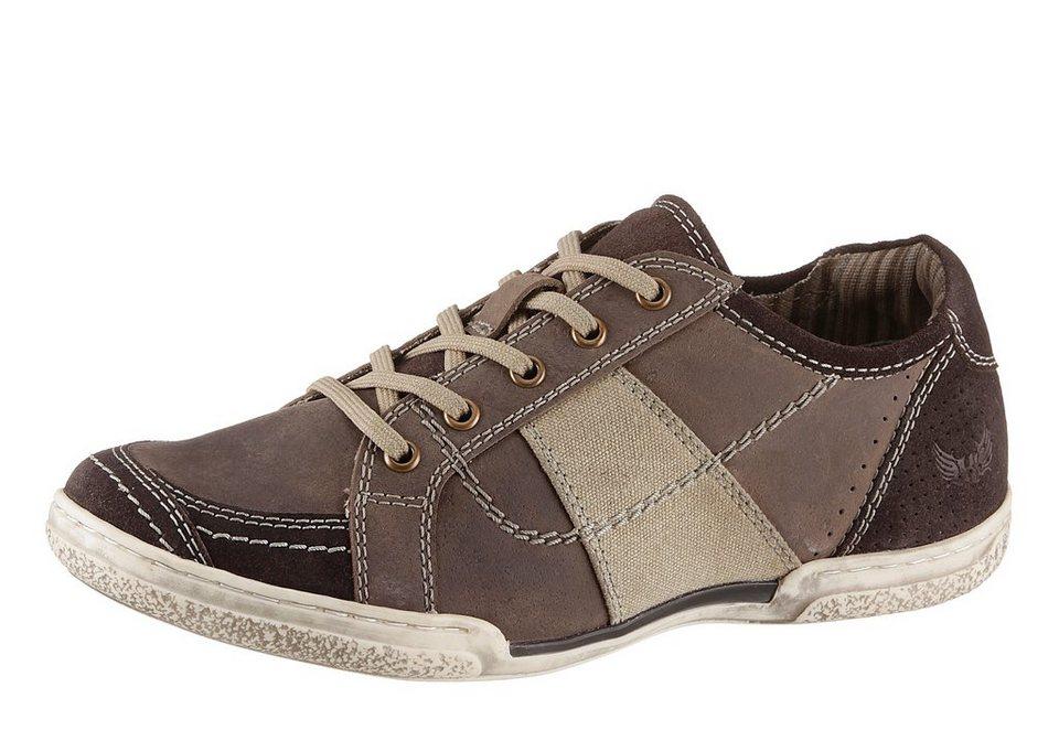 Arizona Sneaker zum Schnüren in braun used