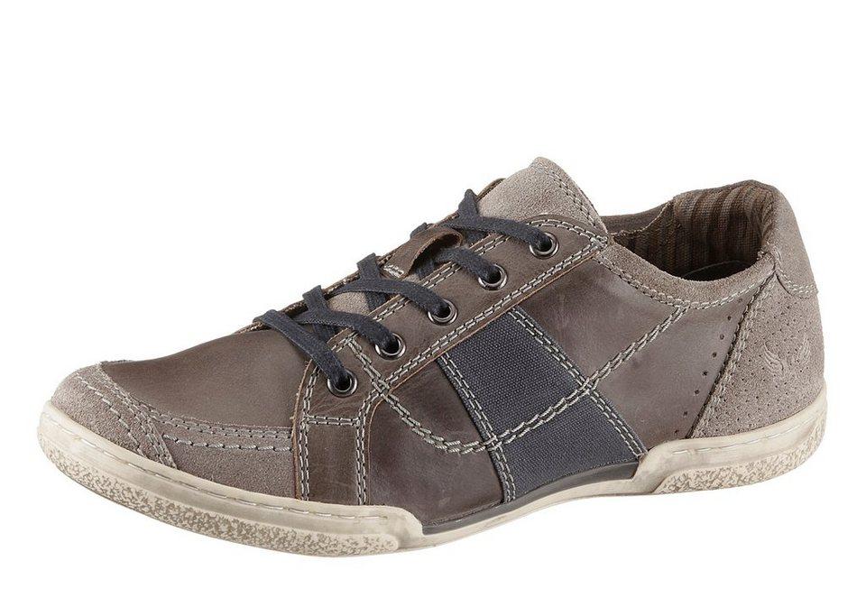 Arizona Sneaker zum Schnüren in grau-blau used