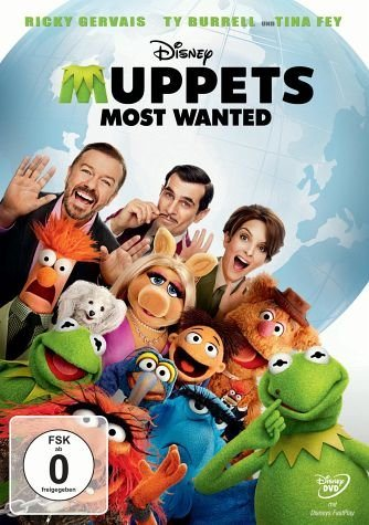 DVD »Muppets Most Wanted«