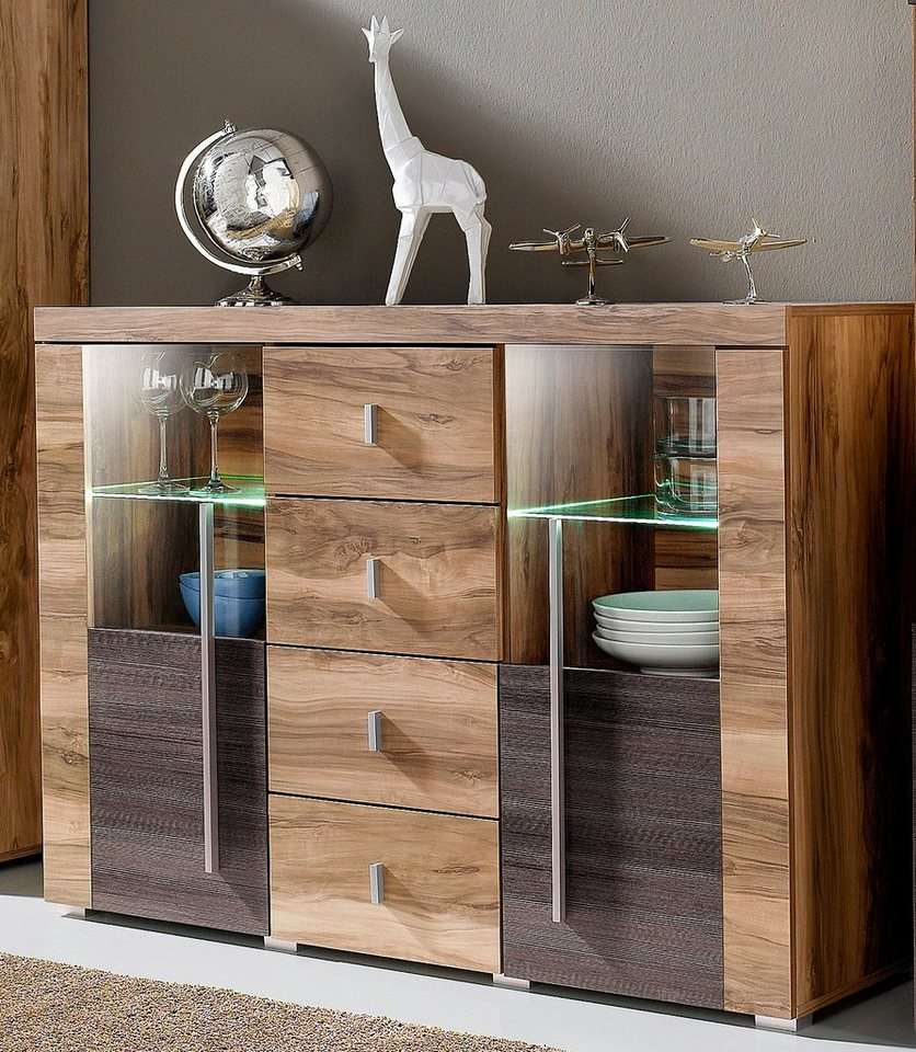 sideboard breite 132 cm online kaufen otto. Black Bedroom Furniture Sets. Home Design Ideas