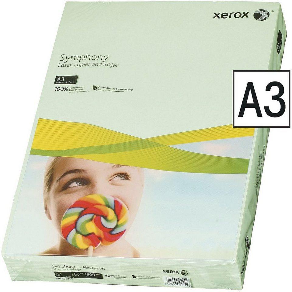 Xerox Farbiges Papier »Symphony« in mittelgrün
