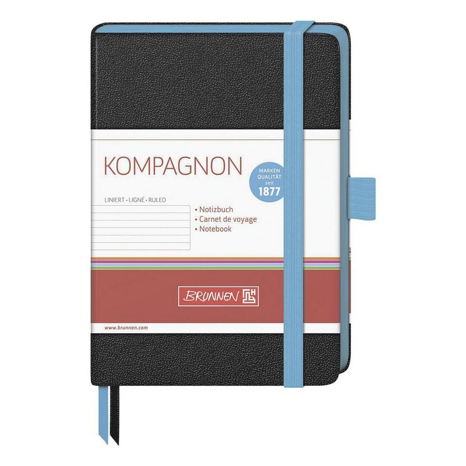 Brunnen Notizbuch »Kompagnon« in blau