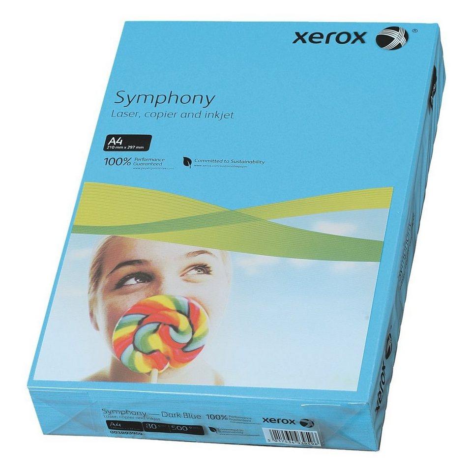 Xerox Farbiges Papier »Symphony« in dunkelblau