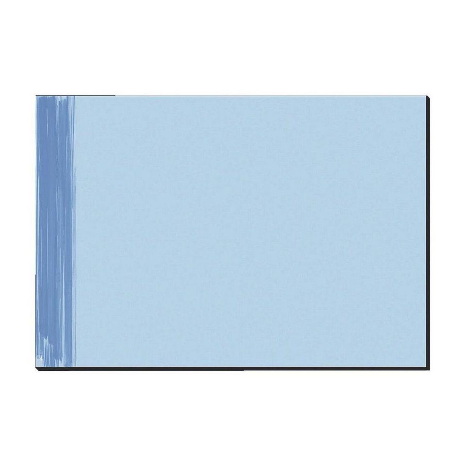 Sigel Schreibunterlage in blau