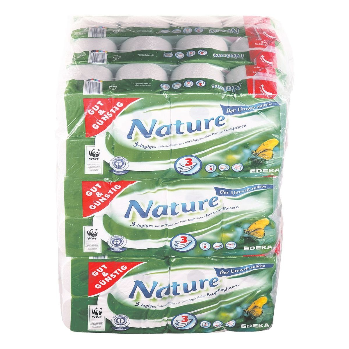 Gut und Günstig Toilettenpapier »Nature«