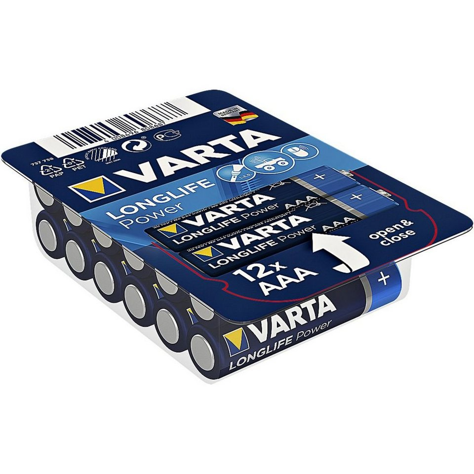 Varta Batterien »High Energy« Micro / AAA / LR03