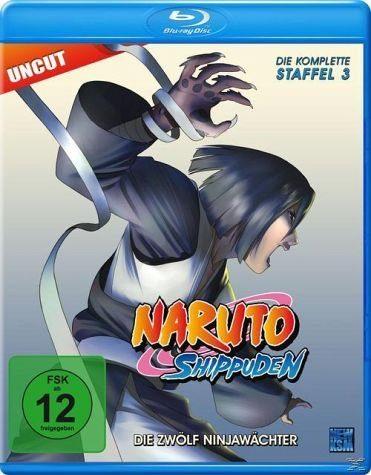 Blu-ray »Naruto Shippuden - Staffel 3 Uncut Edition«