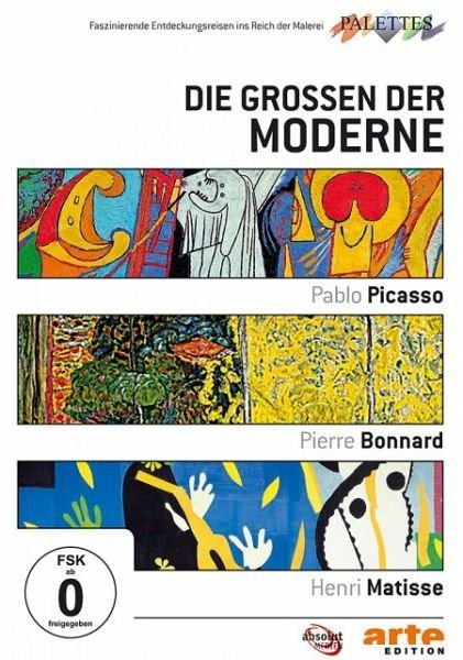 DVD »Die Großen der Moderne: Picasso / Bonnard /...«