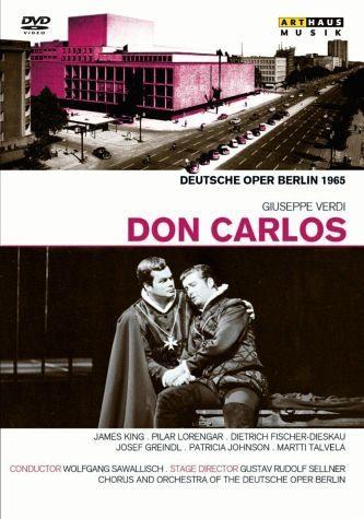 DVD »Verdi, Giuseppe - Don Carlos«