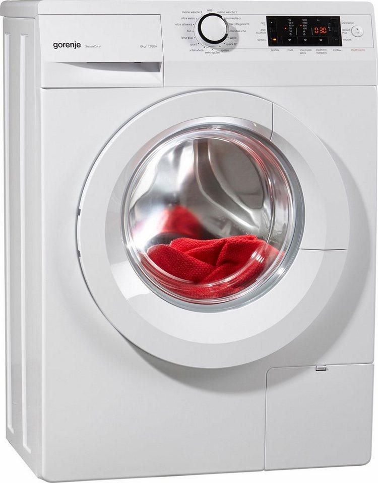 gorenje waschmaschine was629 a a 6 kg 1200 u min online kaufen otto. Black Bedroom Furniture Sets. Home Design Ideas