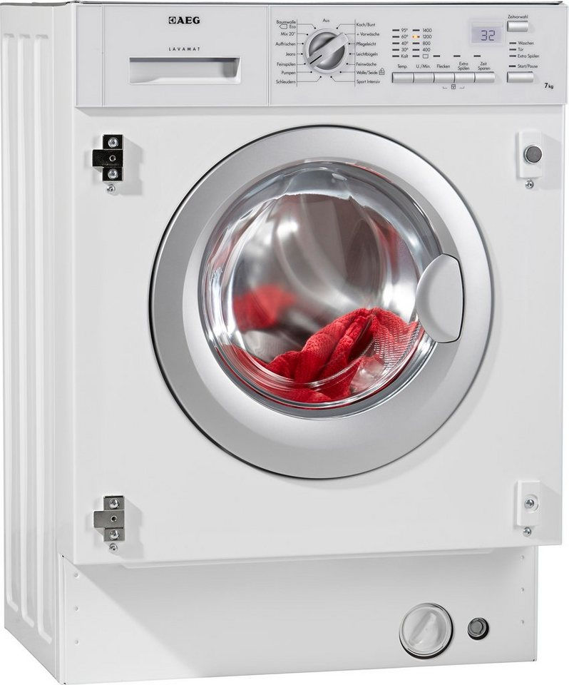 aeg einbauwaschmaschine lavamat l61470bi 7 kg 1400 u min. Black Bedroom Furniture Sets. Home Design Ideas