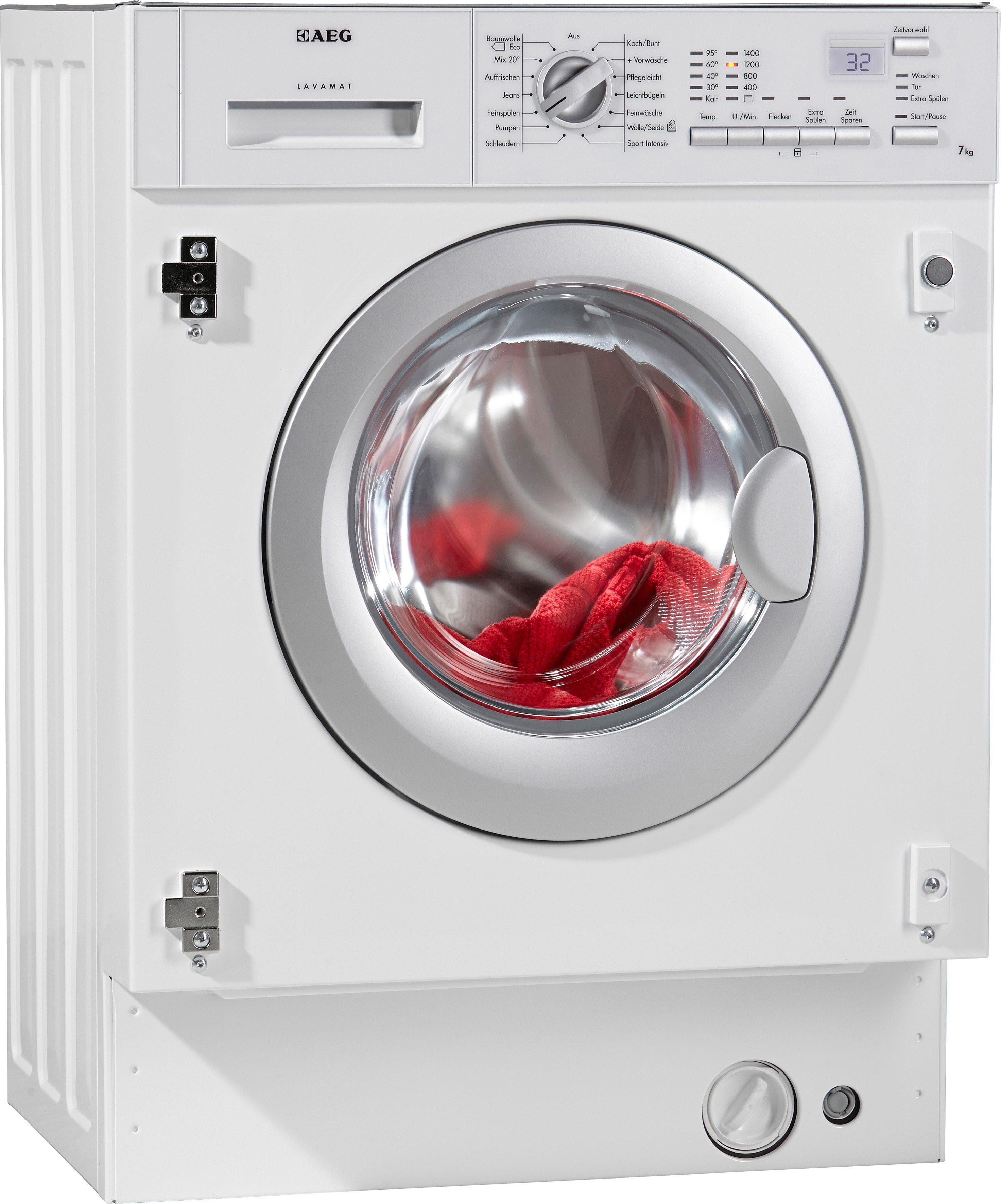 AEG Waschmaschine LAVAMAT L61470BI, A++, 7 kg, 1400 U/Min