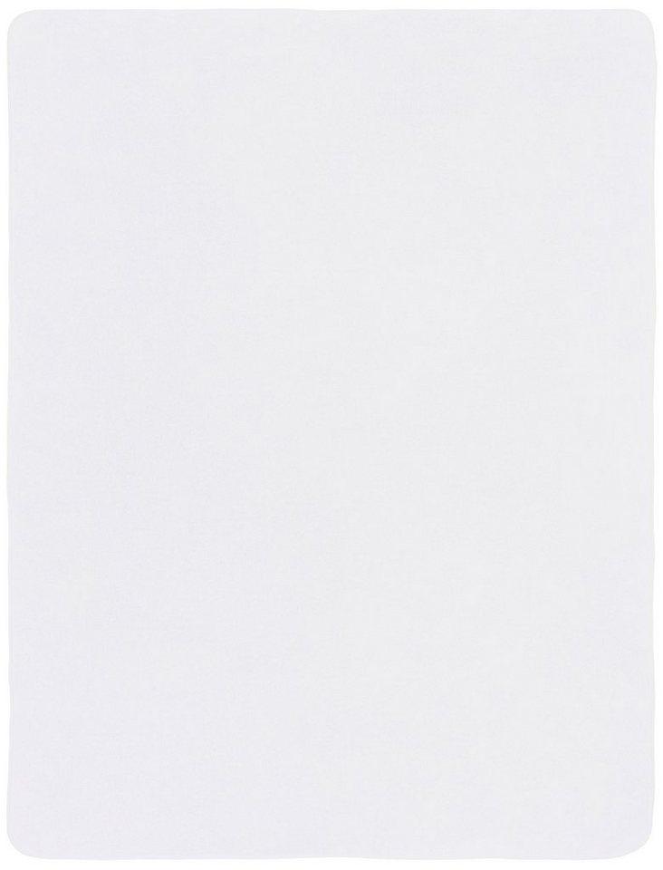 Wohndecke, s.Oliver RED LABEL, »Oro«, in trendigen Farben erhältlich in weiß