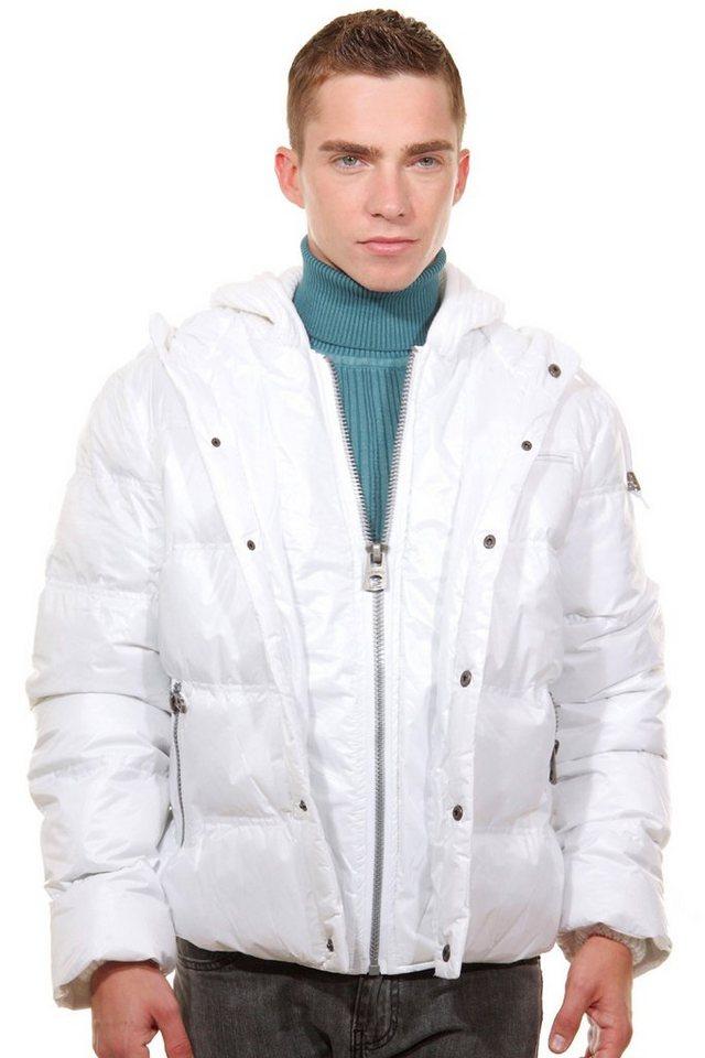 OBOY Streetwear Jacke regular fit in weiss