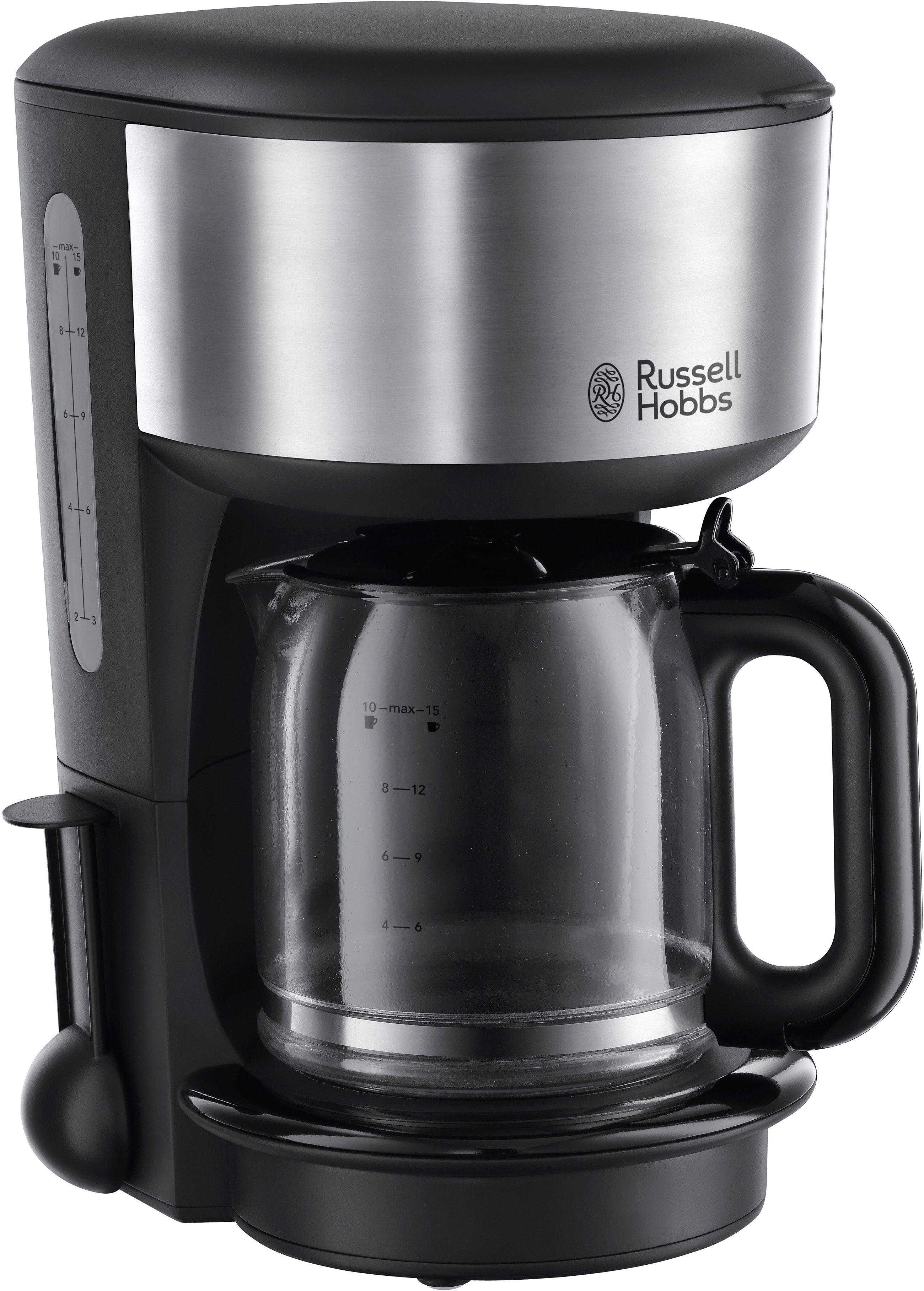 Russell Hobbs Glas-Kaffeemaschine »Oxford« 20130-56, schwarz/silber
