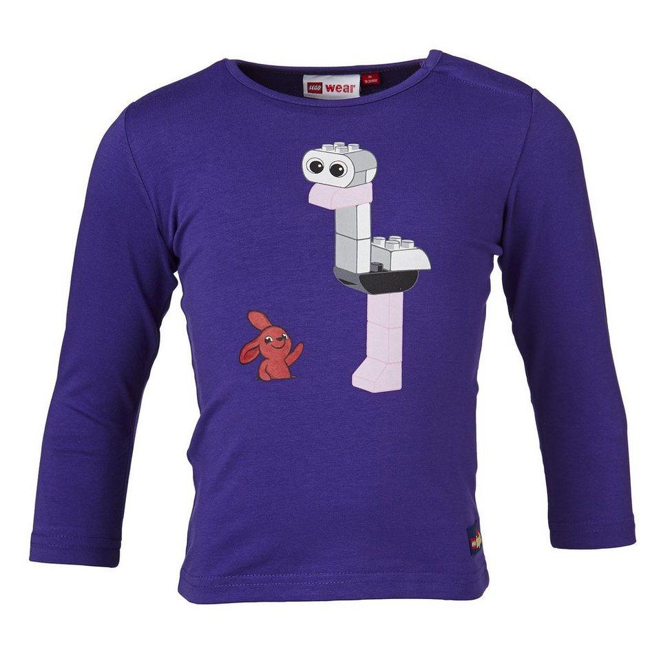 "LEGO Wear Langarm T-Shirt LEGO® Duplo® Taia ""Strauss"" Shirt in lila"