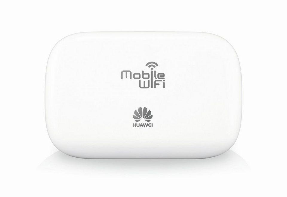 HUAWEI WLAN-Router »HUAWEI E5330 mobiler HSPA+ Hotspot (51070NYA)« in weiß