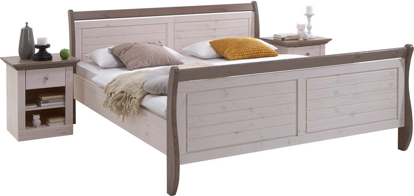 Bett Home affaire  Skanderborg weiß   05707252047801