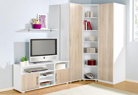 Jugendzimmer-Set, (Set, 5-St)
