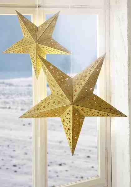 sterne basteln anleitung zum weihnachtssterne basteln otto. Black Bedroom Furniture Sets. Home Design Ideas