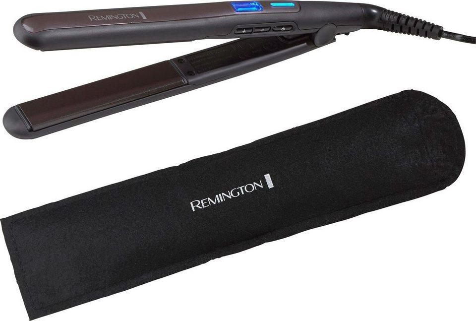 Remington, Haarglätter, S6505 in schwarz/dunkellila