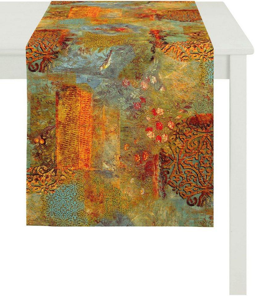 Tischläufer, Apelt, »3044«, Baumwolldruck in bunt