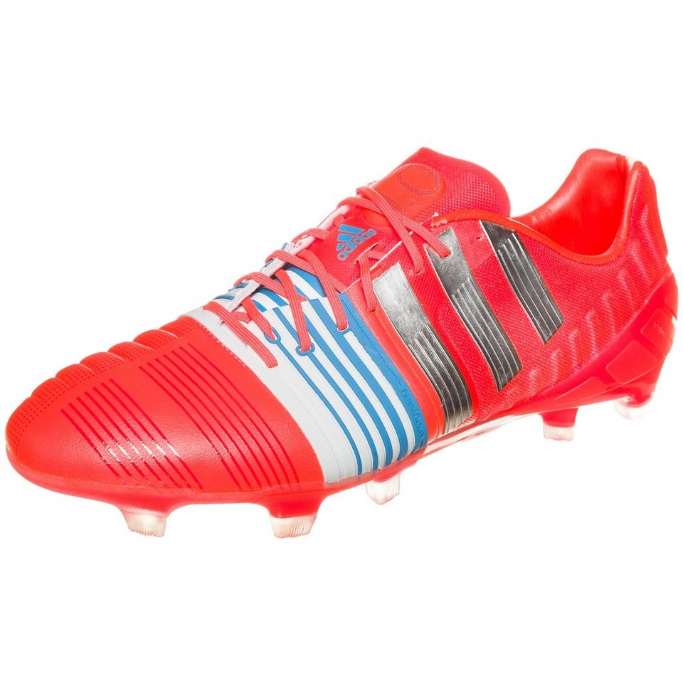 adidas Performance nitrocharge 1.0 TRX FG Fußballschuh Herren in rot / silber / weiß
