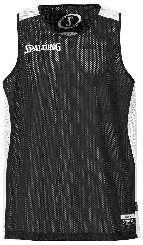 SPALDING Essential Reversible Shirt Kinder in schwarz / weiß