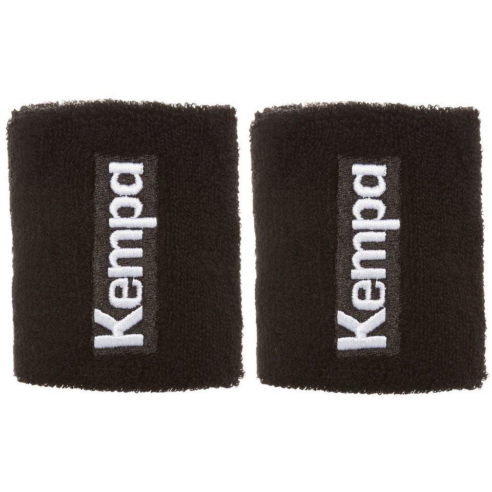 KEMPA Schweißband kurz 6er Pack in schwarz