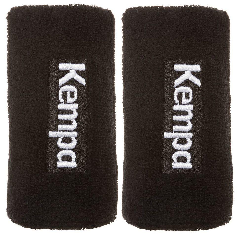 KEMPA Schweißband lang 6er Pack in schwarz