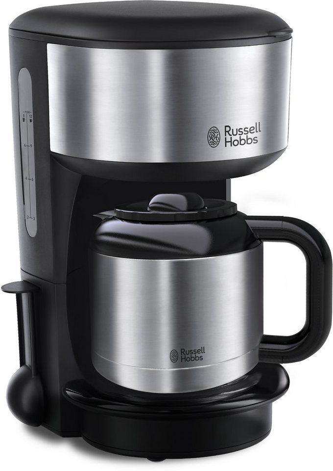 russell hobbs thermo kaffeemaschine oxford 20140 56 schwarz silber online kaufen otto. Black Bedroom Furniture Sets. Home Design Ideas