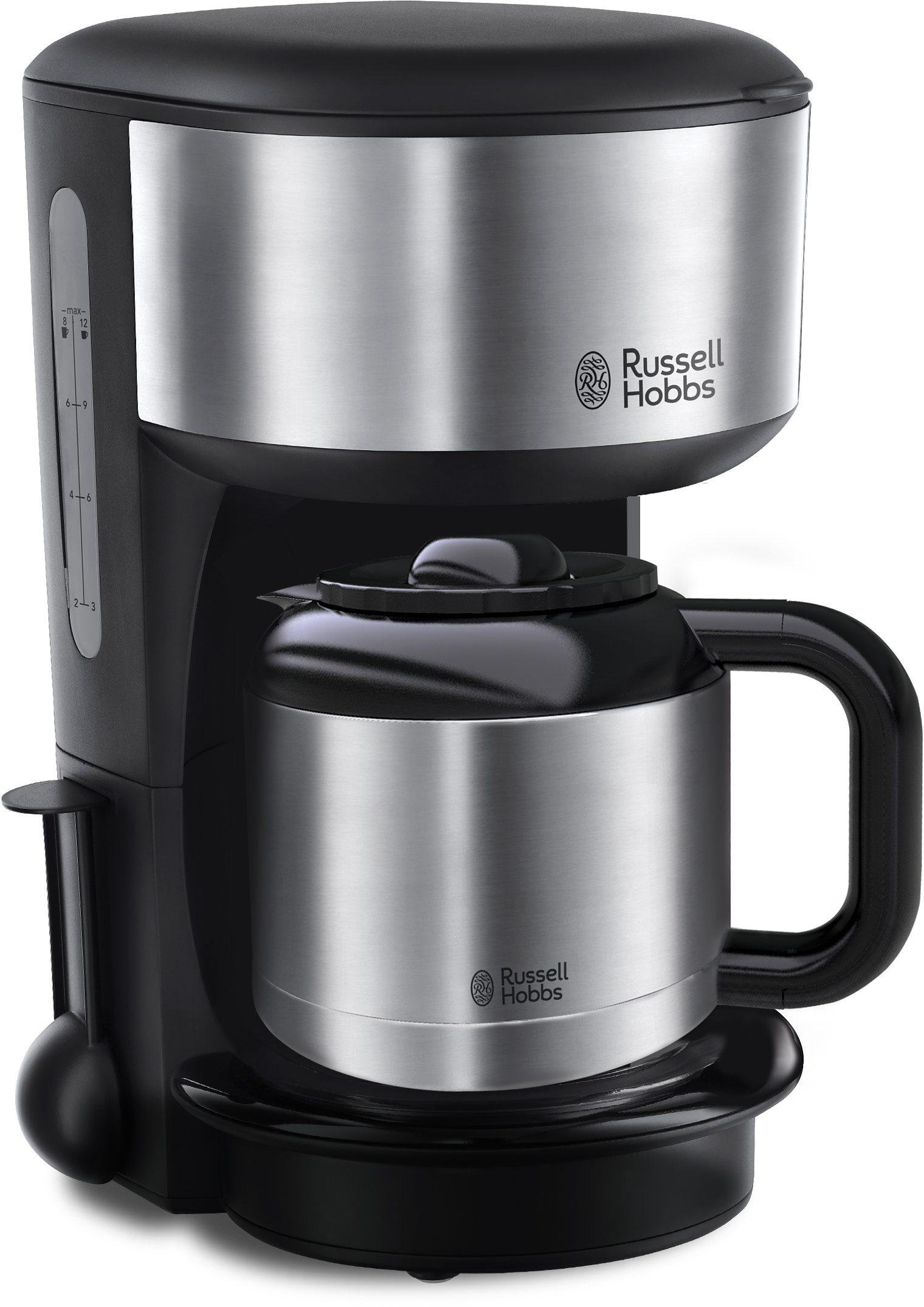 Russell Hobbs Thermo-Kaffeemaschine »Oxford« 20140-56, schwarz/silber