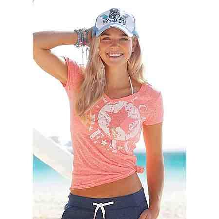 Venice Beach Shirt mit Logo-Druck