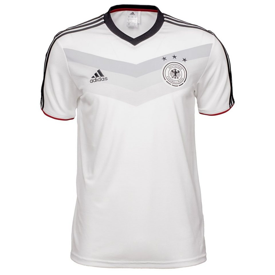 adidas Performance DFB Replica T-Shirt WM 2014 Herren in weiß / schwarz