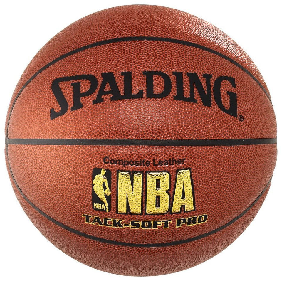 SPALDING NBA Tack-Soft Pro (74-190Z) Basketball in braun / orange