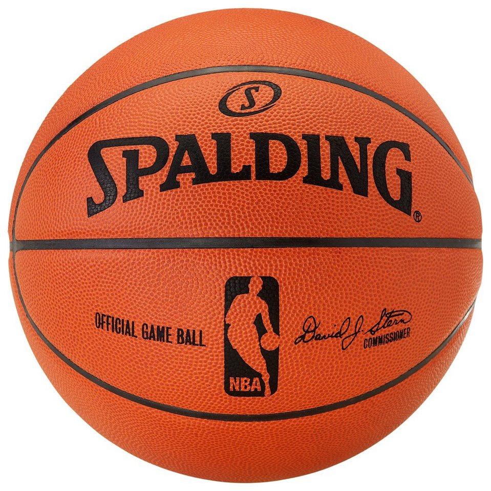 SPALDING NBA Gameball (74-233Z) Basketball in orange