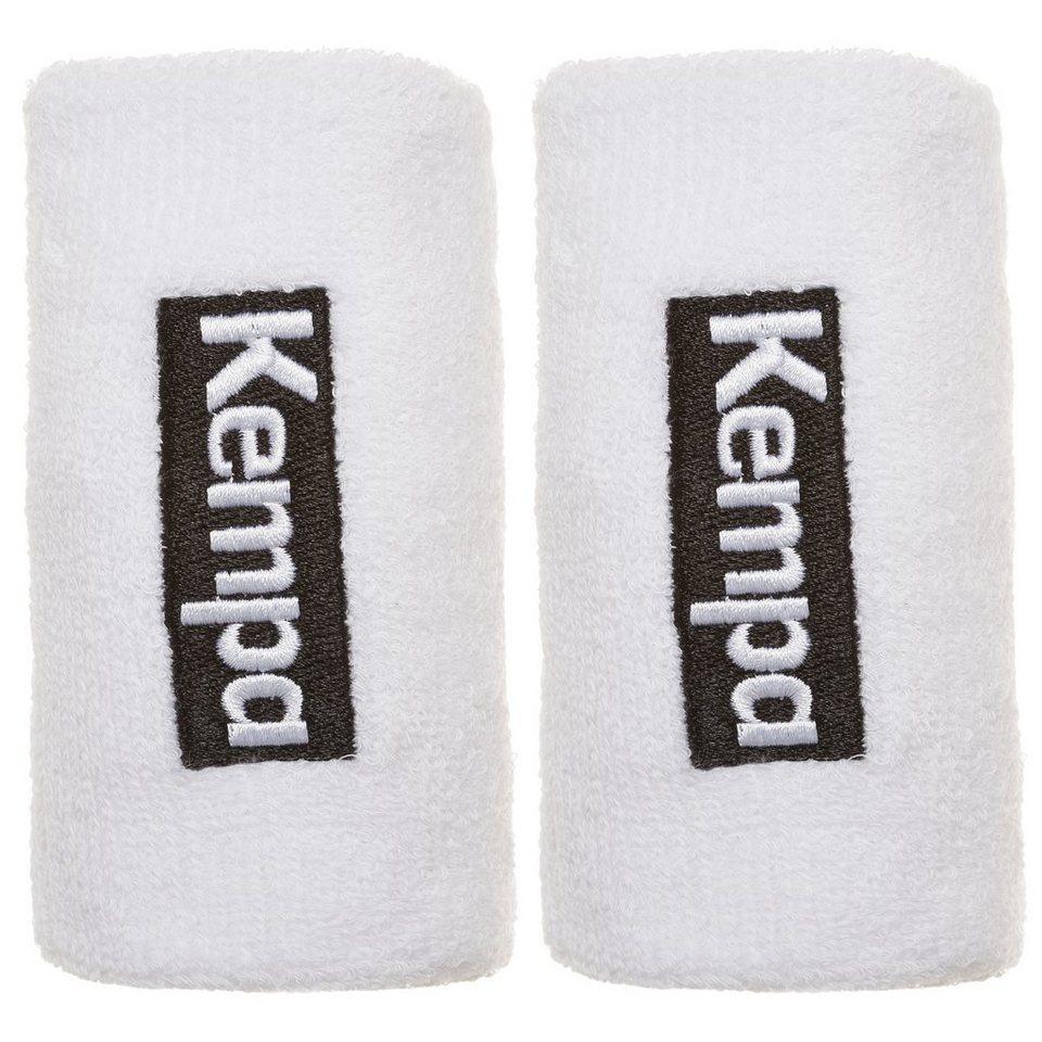 KEMPA Schweißband lang 6er Pack in weiß