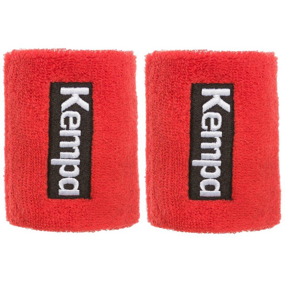 KEMPA Schweißband kurz 6er Pack in rot