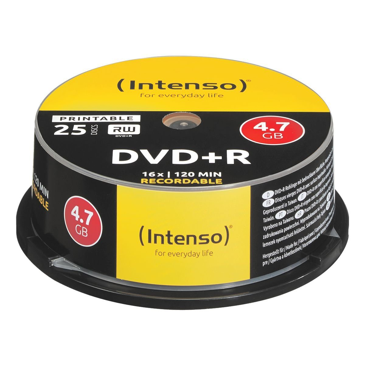 Intenso DVD-Rohlinge »Printable DVD+R«