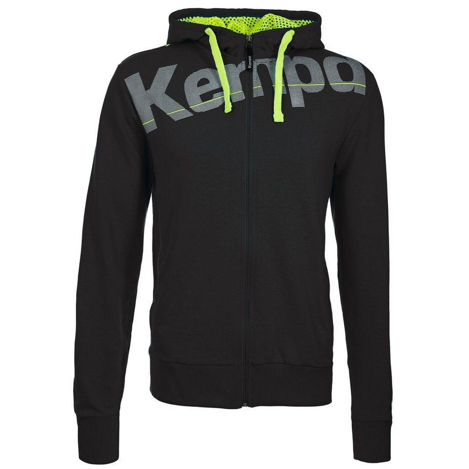 KEMPA Core Kapuzenjacke Herren in schwarz
