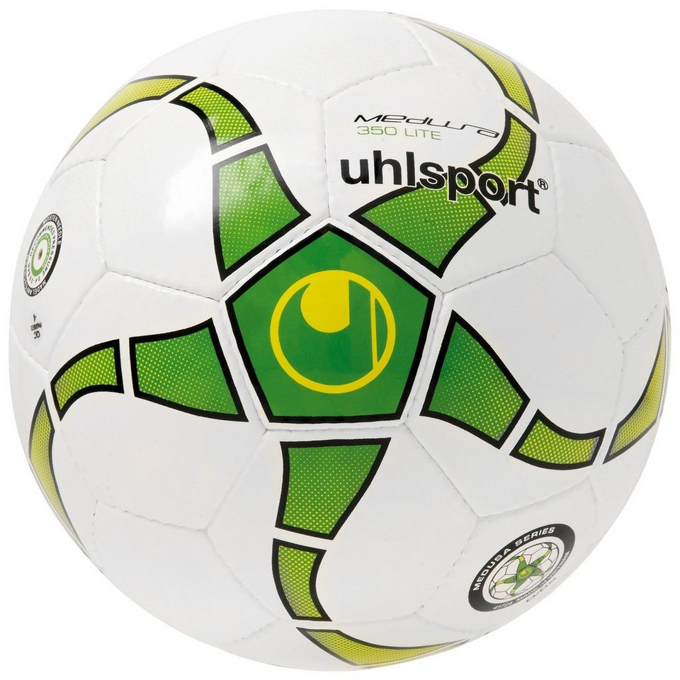 UHLSPORT Medusa Anteo 350 Lite Fußball in weiß/grün/lime